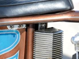 Alter Custom-Ölkühler von Drag Specialties