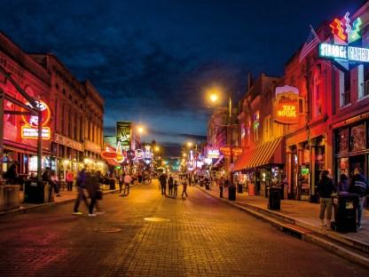 Den Abend in Memphis verbrachten wir in der Beale Street