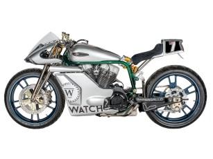 Der originale Harley-Rahmen bekam zwei zusätzliche Oberzüge