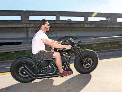 Erik ließ sich nicht lange bitten und brauste auf die Interstate 95