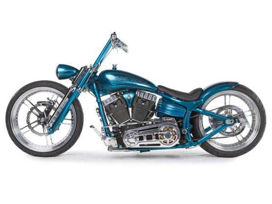 Bereits zu Beginn der Planungen standen der Name für das Bike und die Farbgebung fest