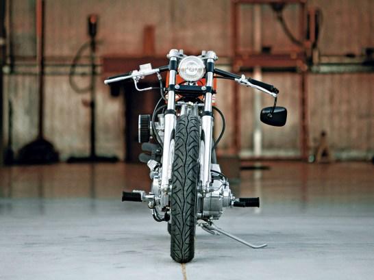 Schlanke Reifen sorgen für gute Handlichkeit