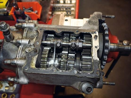 Unglaubliche 40 Jahre wurde das Ratchet-Top-Getriebe bei Harley gebaut