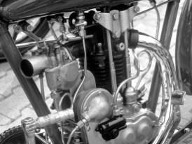 """Der BA-Motor bildete zusammen mit seiner sportlicheren Variante """"S"""" den Grundstock für den auf den Rennstrecken überaus erfolgreichen """"Peashooter"""""""