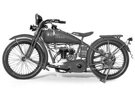 1926 ersetzte Harley den IOE- Motor durch den Seitenventiler