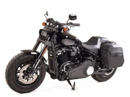 SW-Motech hat für die aktuellen Harley-Davidson Softail-Modelle die beiden Seitentaschen LH1 und LH2 in der entwickelt