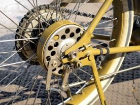 Freilaufkupplung und Hinterradbremse aus den Serien-Harleys der Jahre 1915/16