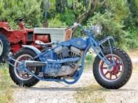 Der Zahnriemenantrieb zum Hinterrad entlarvt das Bike als recht moderne Konstruktion