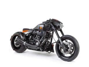Carbon, wohin das Auge auch schaut. Dieses Bike wurde von einer bayrischen Firma gebaut, die sonst Teile für supersportliche Motorräder herstellt