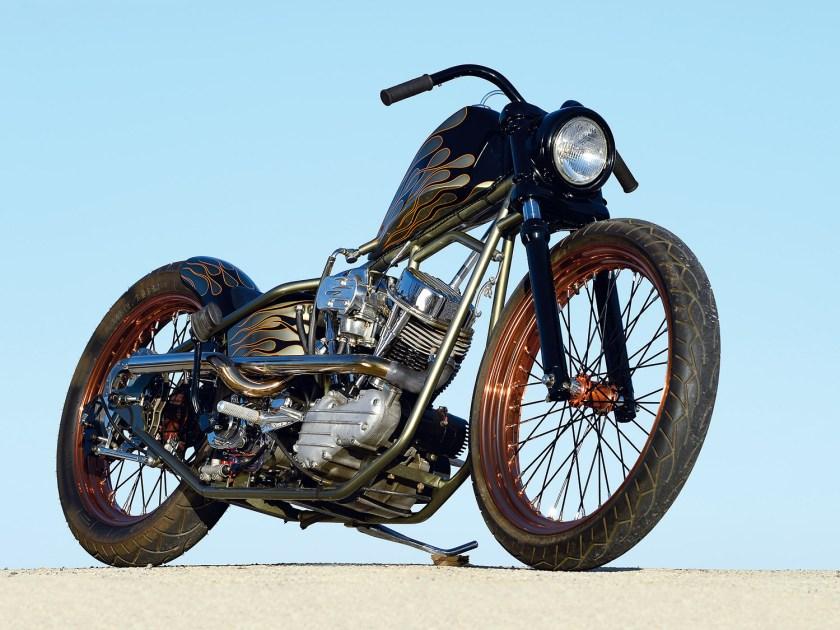 Harley-Davidson Panhead im Santee-Rahmen