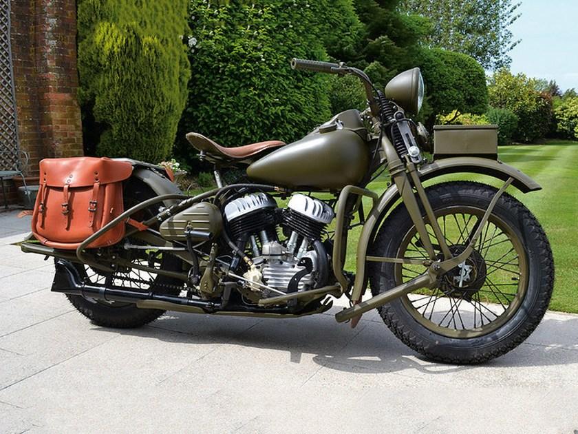Harley-Davidson History WLA vs. WLC