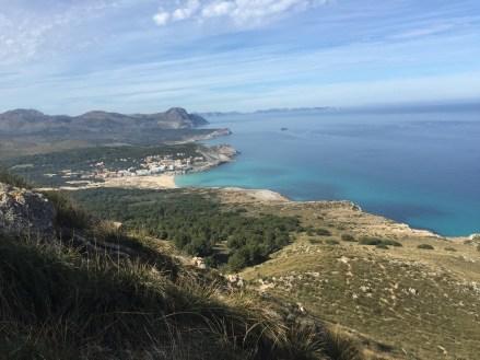 Mallorca Aussicht Meerblick