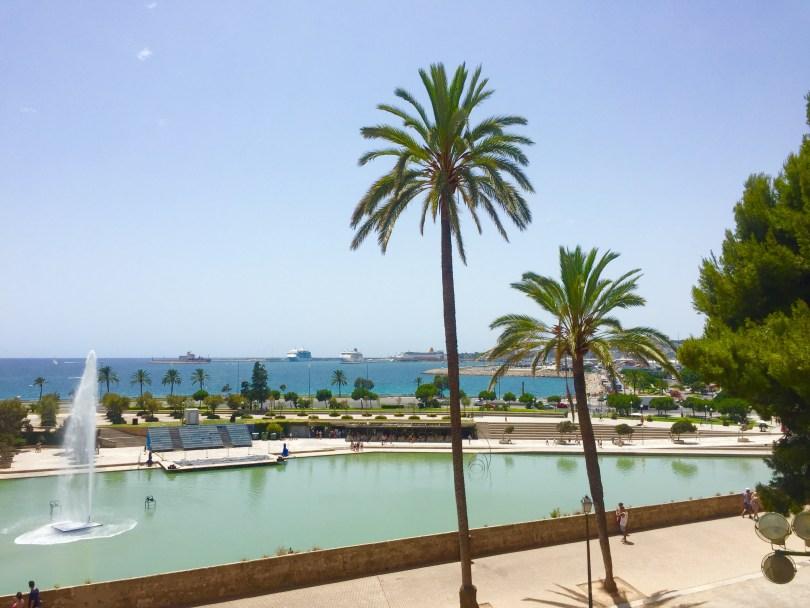 Palma de Mallorca Meerblick