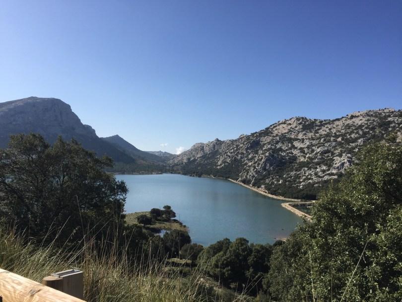 Stausee Cúber Mallorca Tramuntana Gebirge