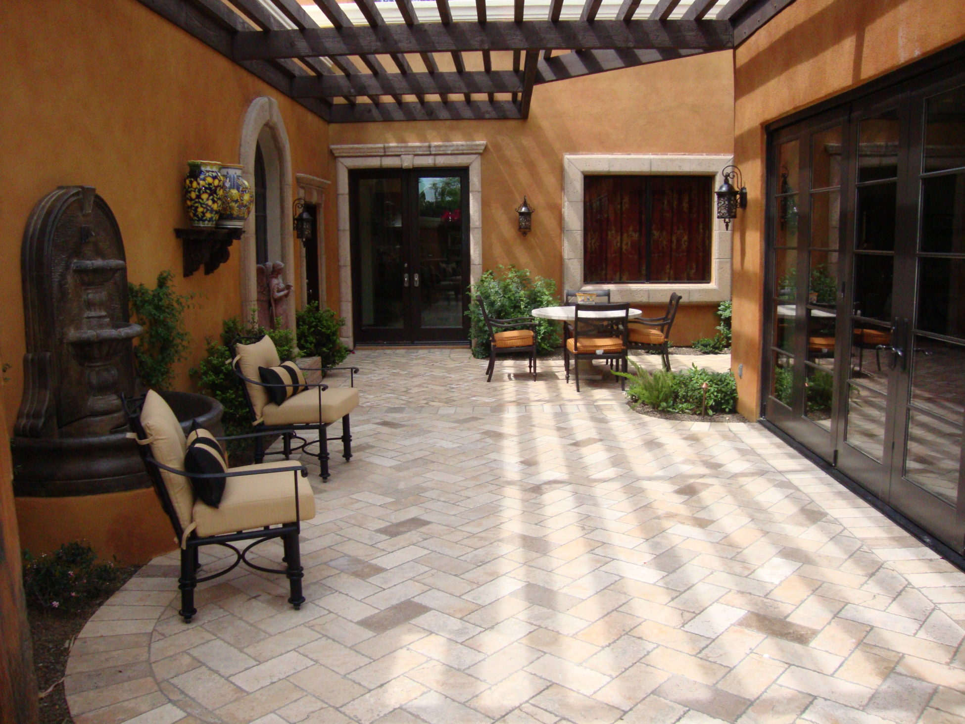 Paver Designs and Paver Ideas for Your Backyard Patios on Yard Paver Ideas  id=51126