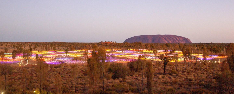 Uluru, Field of Light
