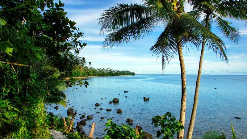 Tavenui Island in Fiji, South Pacific