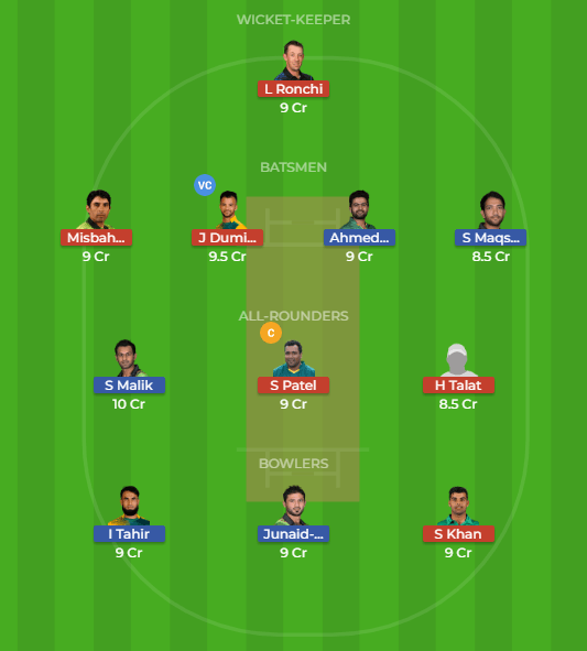 MUL vs ISL 25th Match Dream11 Team