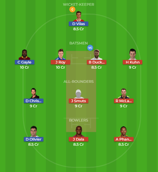 JOZ vs NMG Dream11 2nd Match