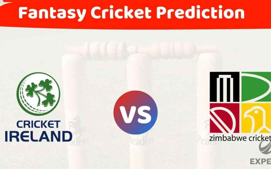 IRE vs ZIM Dream11 3rd T-20 Dream11 Team, Prediction and Team News