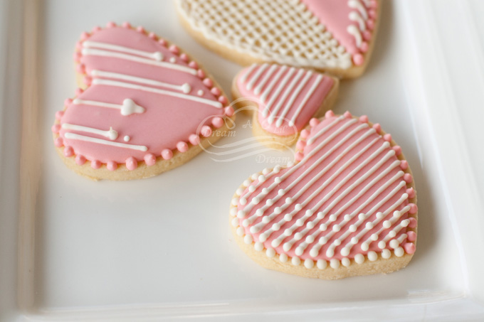 Lace Heart Cookies Dream A Lil Dream