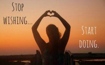 Odhodlanie robiť veci, po ktorých túžime