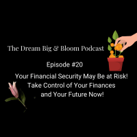 Episode #20: Your Financial Security May Be at Risk! Take Control of Your Finances and Your Future Now!