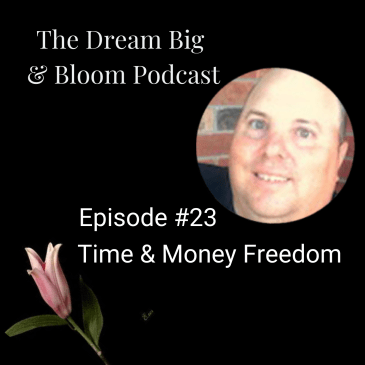 podcast cover image Episode 23 Time and money freedom