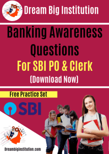 Banking Awareness Questions for SBI PO And Clerk