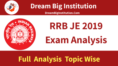 RRB JE Exam Analysis & Review 2019: 22 May 1st Shift