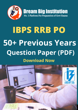 50+ IBPS RRB PO Previous Year Question Paper in Hindi and English Download Free