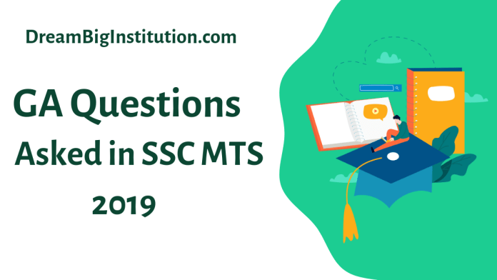 Questions Asked In The SSC MTS Exam 2019