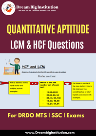 Best LCM and HCF Questions