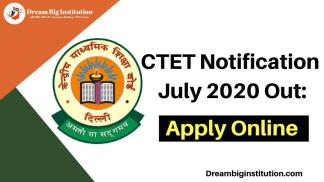 CTET Notification 2020