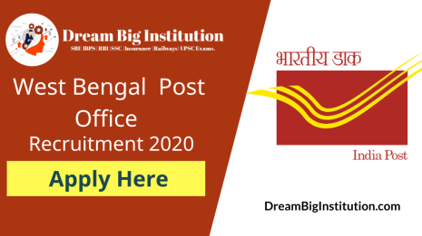 West Bengal Post Office Recruitment 2020