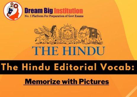 The Hindu Editorial VOCAB 1 October 2020