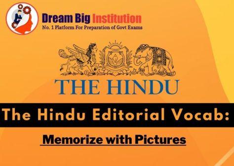 The Hindu Editorial VOCAB 23 September 2020