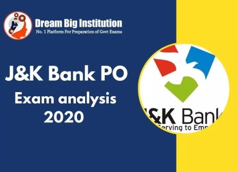J&k Bank PO Exam analysis for 25 Nov 2020: Check Section-wise Details