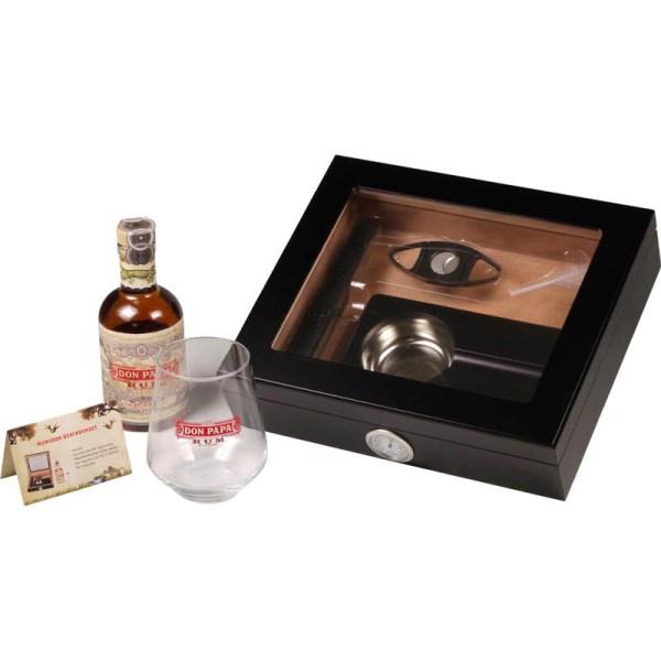 Set Humidor 15x + Rum D. Papa-0