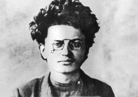 wide young trotsky