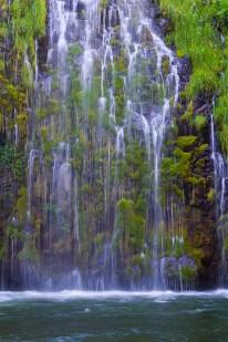 Mossbrae Falls Up Close