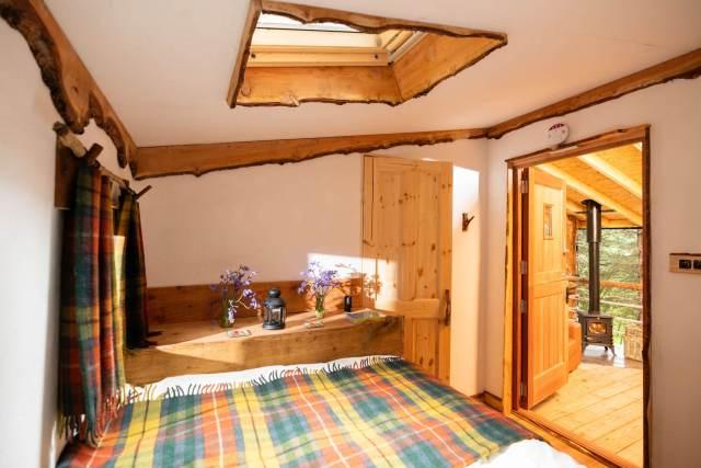 Dreamcatcher cabins, Gartmore.