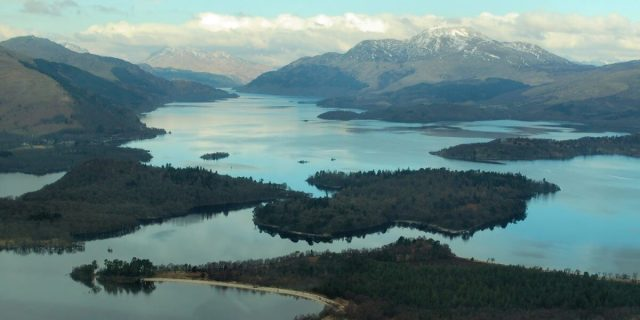 Loch Lomond (20 mins away)