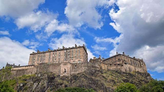 Edinburgh Castle - one hour away!