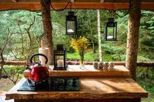 Dreamcatcher Cabins, Gartmore - Jay's Nest.