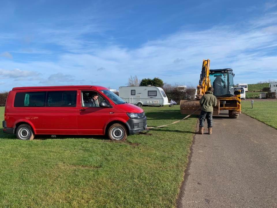 Trialing the Campervan for Dreamcatcher Honeymoons