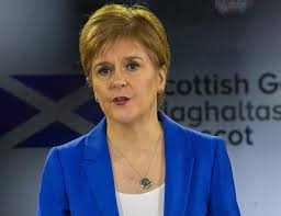 Hanging on to Nicola's every word …..
