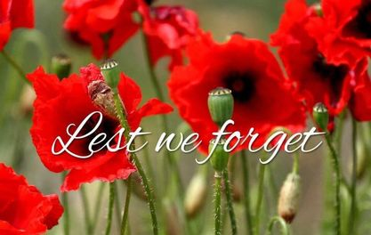Lest we forget ..