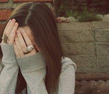 brunette-cute-girl-hide-hiding-147220