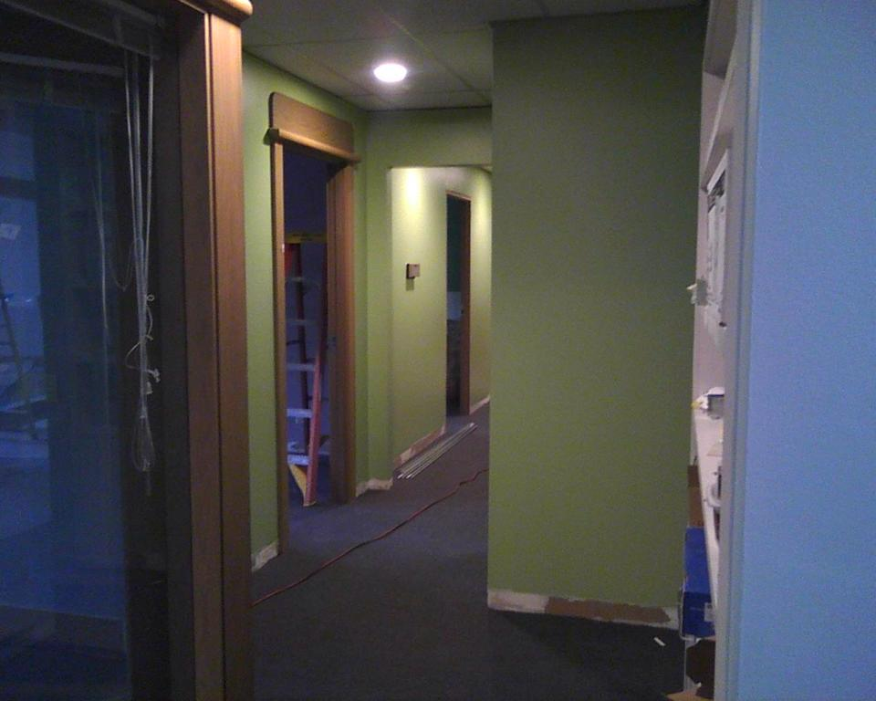 more construction photos from dreamclinic massage overlake